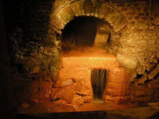 พิพิธภัณฑ์โรงอาบน้ำโรมัน: Nacimiento agua caliente