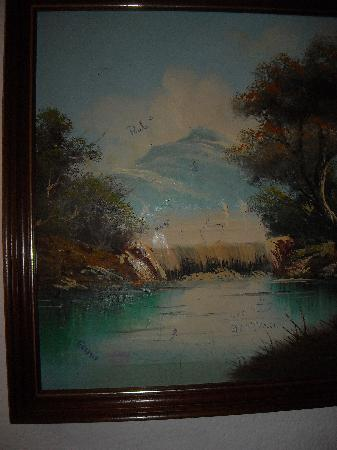 Hotel Samba : painting by many unknown artists