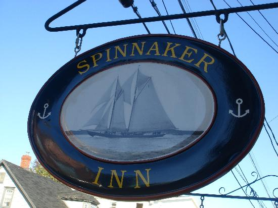 Spinnaker Inn new sign