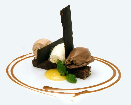 Monkey Bar & Grill: 3 Texturas de Chocolate
