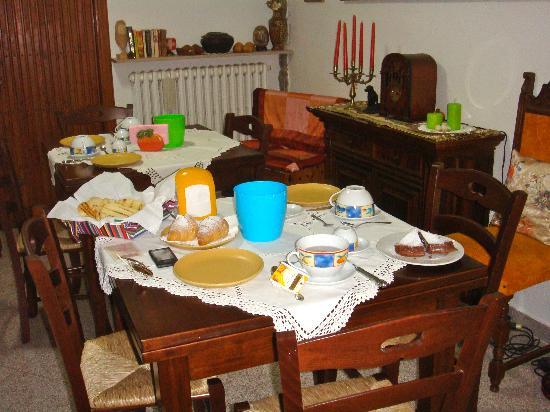 Al Giardino degli Ulivi: colazione