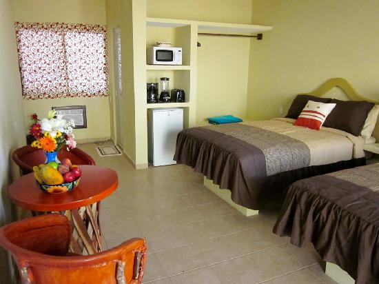 Chacala, México: Double/Double with Kitchenette