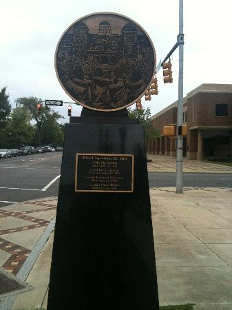Birmingham, AL: Plaque in Memory of the Four Girls Killed Here