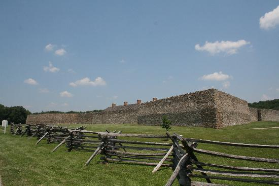 Fort Frederick State Park: Another view of the fort