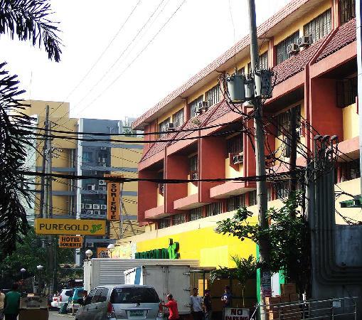 Hotel Soriente from Bocobo Street
