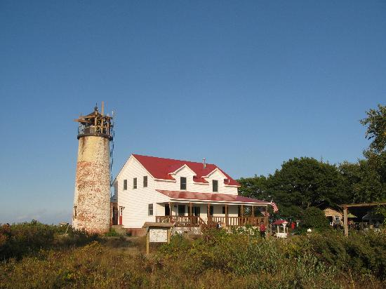 Charity Island Dinner Cruise: Charity Island lighthouse