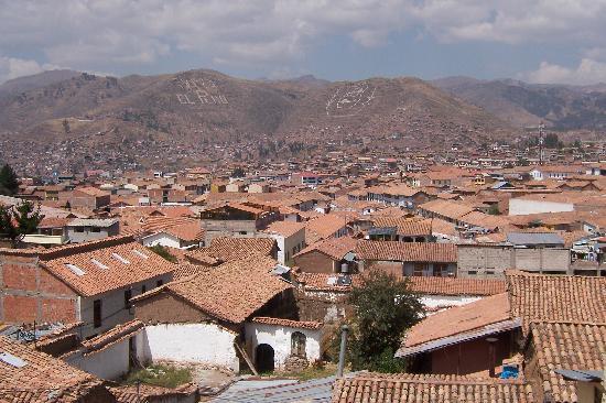 Casa Andina Classic Cusco San Blas: View from upgraded Room 206