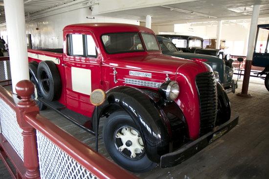 Historic Ferryboat Eureka: Classic vehicles on board the Eureka
