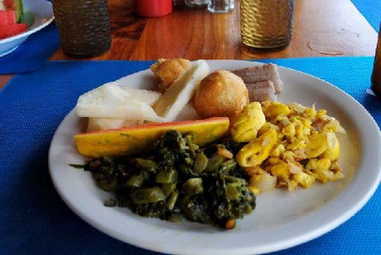 Negril Tree House Resort: The breakfast was delicious!