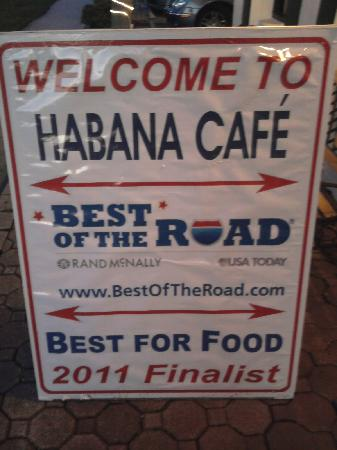 Habana Cafe: poster