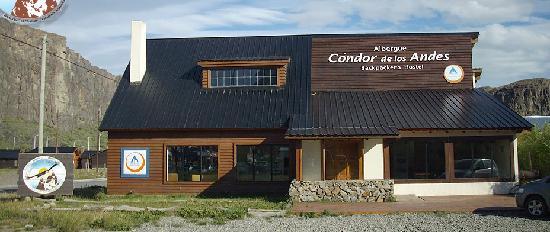 """Condor de los Andes: EL frente del Albergue-Hostel """"Cóndor de los Andes"""""""""""
