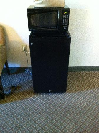 Best Western Grandbury Inn & Suites: Microwave / fridge