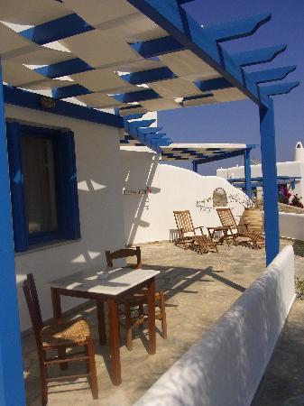 Psaravolada Resort: Superior Studio private veranda