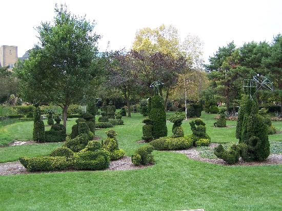 Theoriginal Painting Picture Of Topiary Garden Columbus