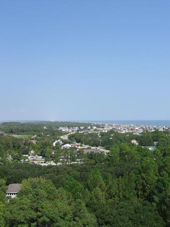 Currituck Beach Lighthouse: View from the top!
