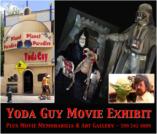Yoda Guy Movie Exhibit, Front Street St Maarten