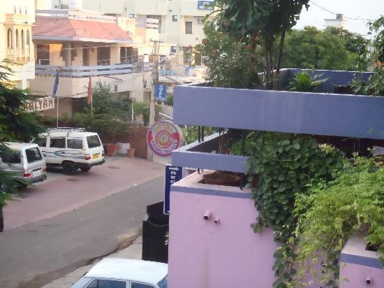 โรงแรมเพิร์ลพาเลซ: 部屋からの眺め。周りには他のホテルくらいしかなかった気がする。