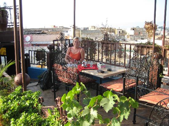 Riad Hiba Meknes: The terrace on the rooftop