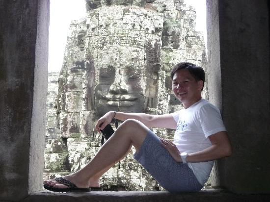 นครวัด: Creative shot from BAyon