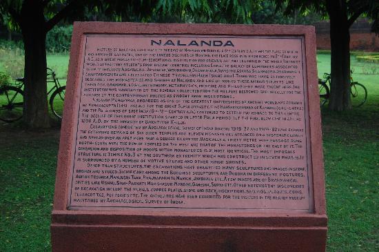 Nalanda: History on Stone