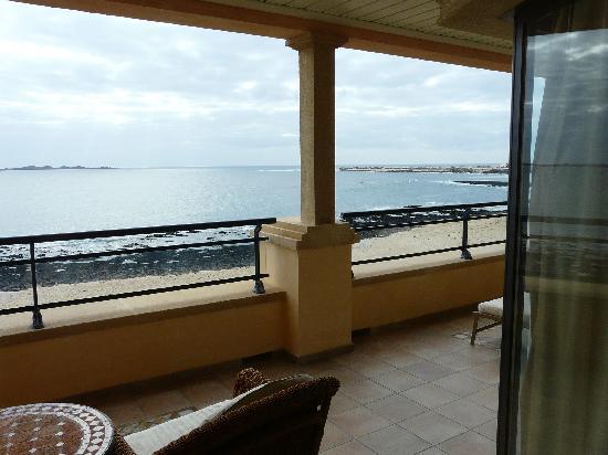 Gran Hotel Atlantis Bahia Real : vistas terraza