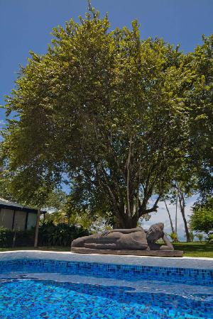 Blue Osa Yoga Retreat and Spa: Reclining by the pool