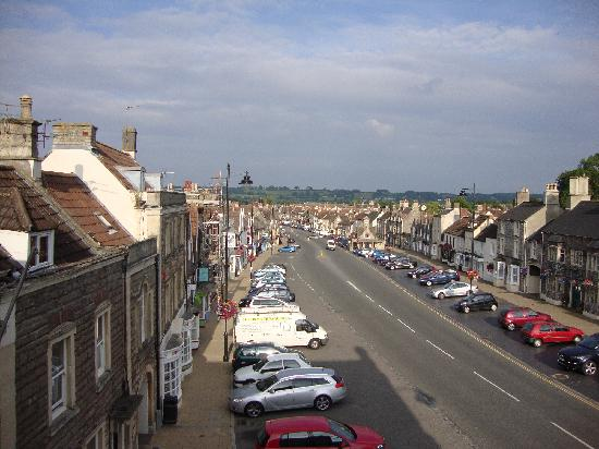 Moda House: Chipping Sodbury high street from front bedroom