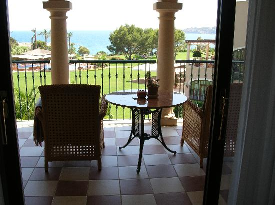 The St. Regis Mardavall Mallorca Resort: Vistas desde la suite