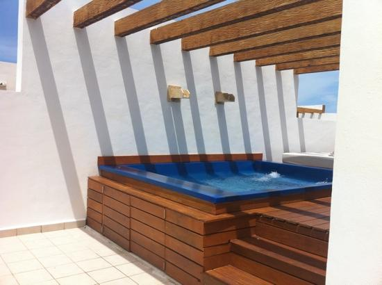 Excellence Playa Mujeres: Our roof top terrace