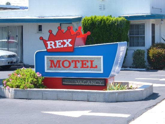 Rex Motel: Rex Sign