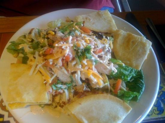 Chili's: Chicken quesidia salad