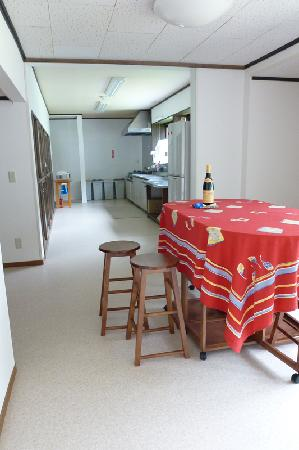 Boukengoya Guesthouse : キッチン・ダイニング
