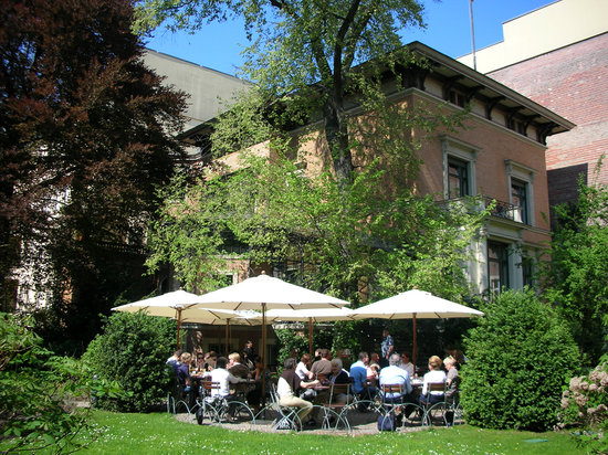 Photo of Modern European Restaurant Wintergarten im Literaturhaus at Fasanenstr. 23, Berlin 10719, Germany