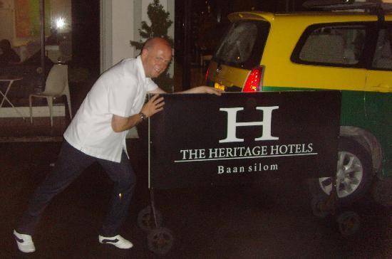 The Heritage Baan Silom Hotel : Bit of daftness.