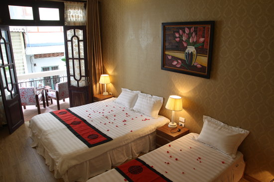 Real Hanoi Hotel: Deluxe Double room