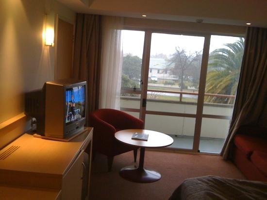 Copthorne Hotel Rotorua: nice view,can smoke outside