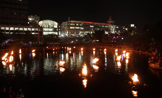 Providence, RI: Bon Fires on the River