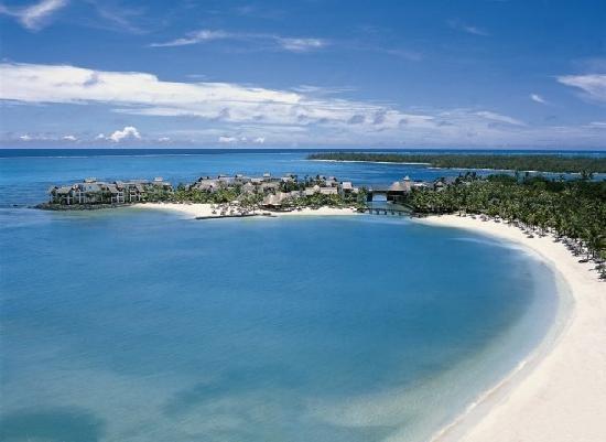 Shangri-La's Le Touessrok Resort & Spa, Mauritius: Hotel Aerial View