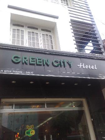 Dalat Green City Hotel: Hotel facade