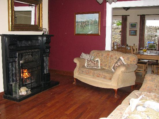 Rigney's Farmhouse Bed & Breakfast: Sitting room