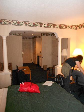 كومفورت إن آند سويتس: Blick in die Suite