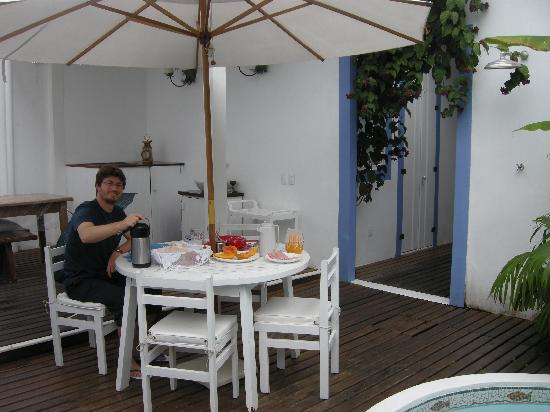 Pousada Casa de Paraty: colazione