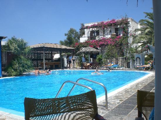 Holiday Beach Resort: Pool area view