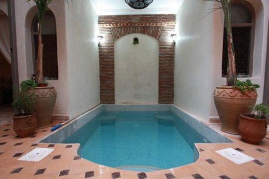 Hotel Riad Beldi : piscine riad beldi a marrakech