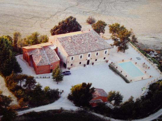 Villa Barocco: vue Aèrienne