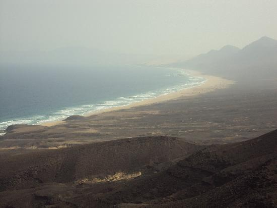 Playa de Cofete: COFETE DESDE EL MIRADOR