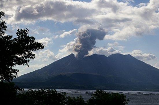 Kagoshima, Japan: 桜島の噴煙