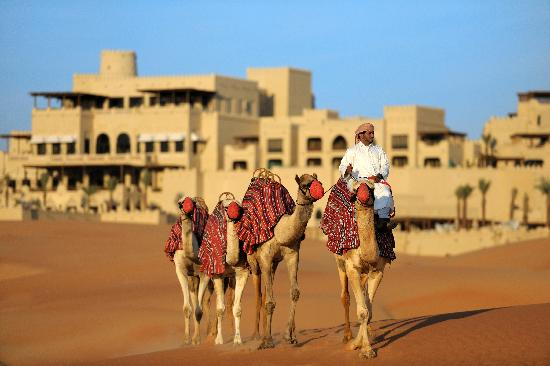 Qasr Al Sarab Desert Resort by Anantara - Camel trekking in nomadic tradition