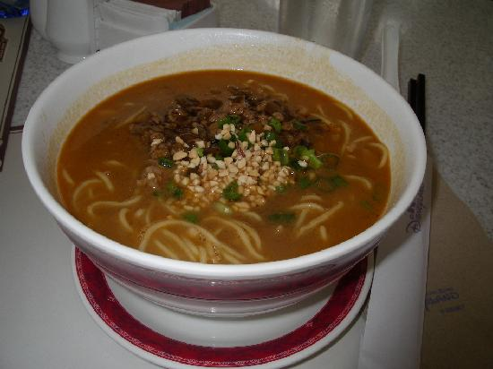 ฮ่องกงดิสนีย์แลนด์: 担々麺