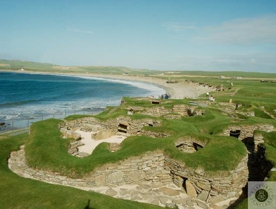 General view of Skara Brae